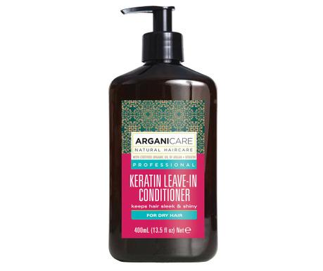 Balsam bez spłukiwania  do włosów suchych Keratina 400 ml