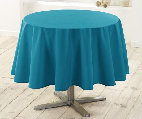 Stolnjak Essentiel Round Blue 180 cm