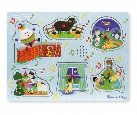 Joc tip puzzle 6 piese Child Song