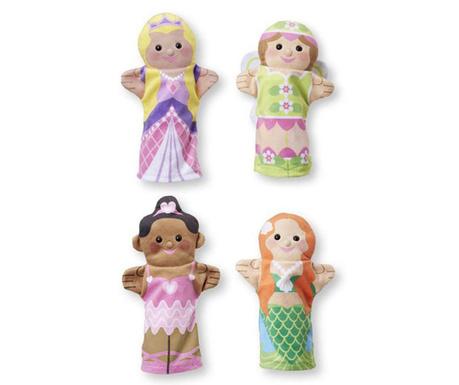 Princesse 4 darabos Kézbáb szett