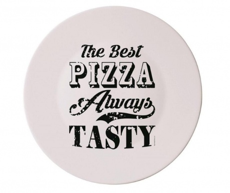 The Best Black Pizzatál