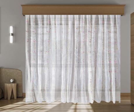 Záclona Janine Pink 200x260 cm
