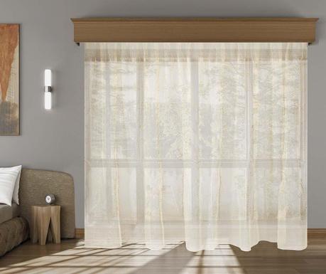 Záclona Basira Coffee 200x260 cm