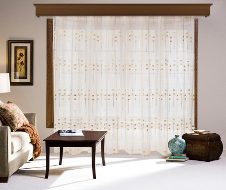 Curtain Torie Golden 200x260 cm