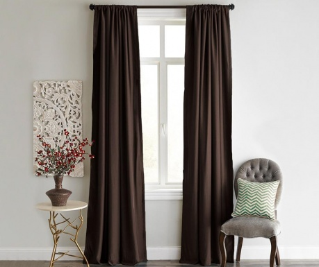 Draperie Blackout Dark Brown 140x240 cm
