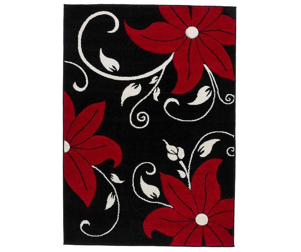 Koberec Verona Black and Red 120x170 cm