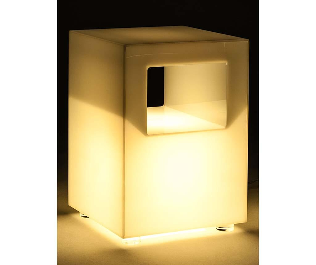 Stolić sa svjetiljkom Galaxy White