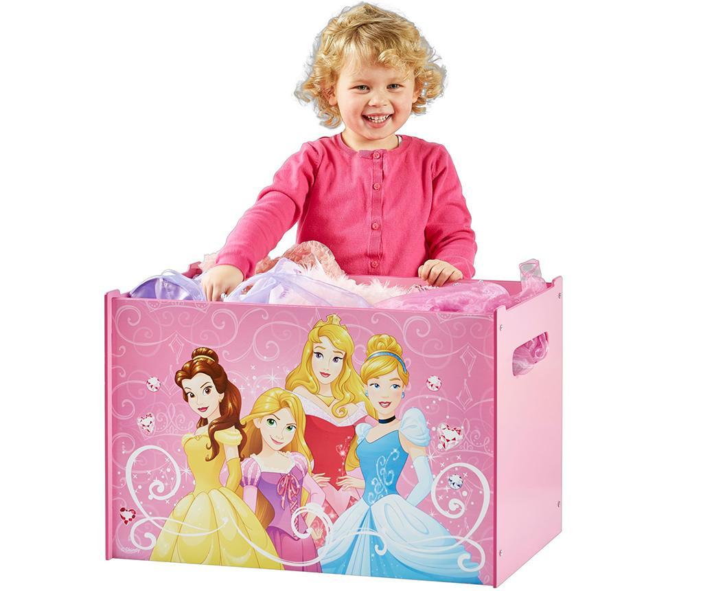 Cutie cu capac pentru depozitare Disney Princess