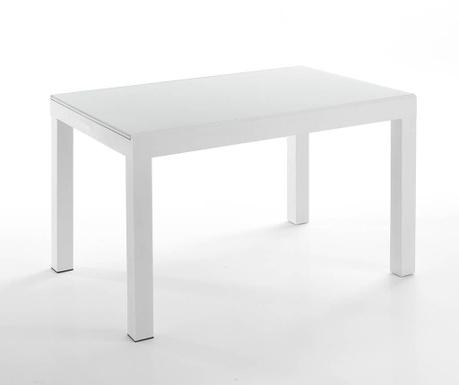 Long White Kihúzható asztal