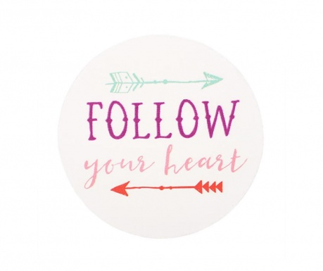 Magnes na lodówkę Follow Your Heart
