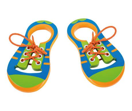 Образователна игра Lacing Shoe