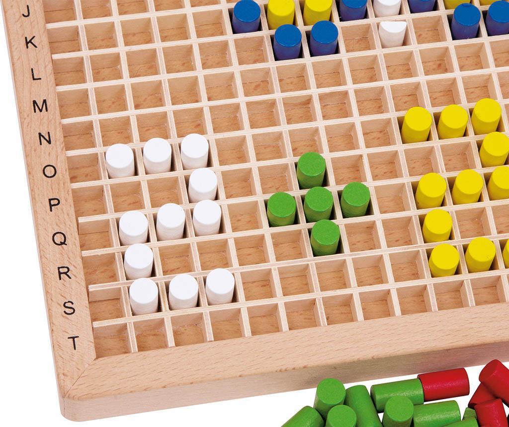 Joc de creatie 302 piese Color Pins