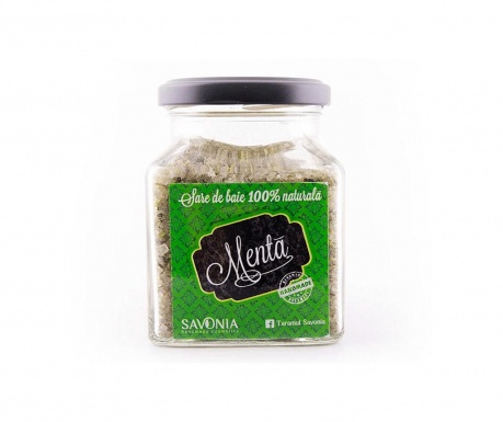 Sól kąpielowa z miętą Savonia 300 g