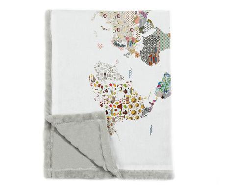 Pokrivač Patchworld 124x166 cm