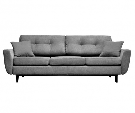 Canapea extensibila 3 locuri Jasmin  Grey