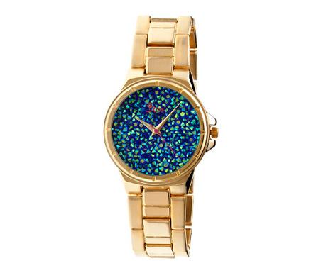 Dámské hodinky Boum Cachet Golden Blue