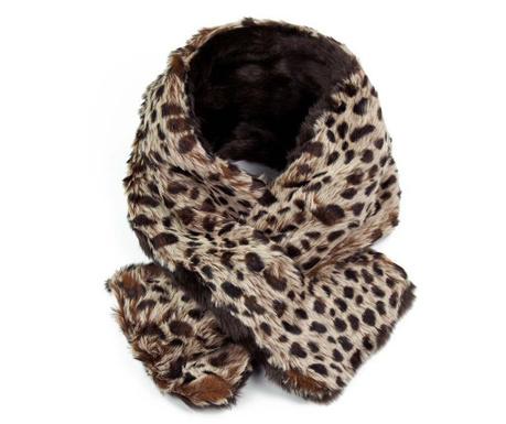 Fular Leopard Print Brown