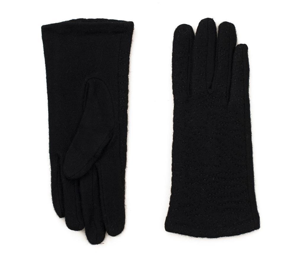 Ženske rokavice Betty Black M/L