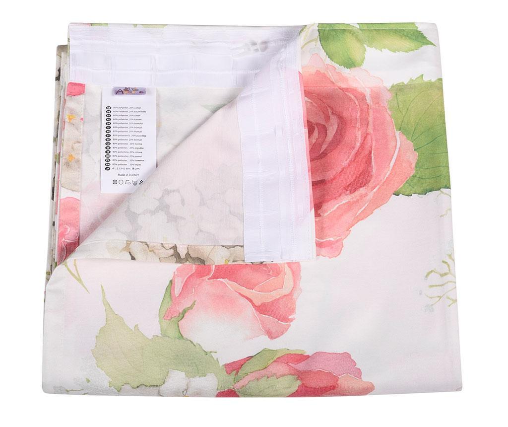 Záves Flowery Pink 140x270 cm