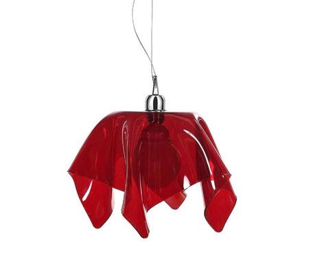 Lustra Drappeggi Red