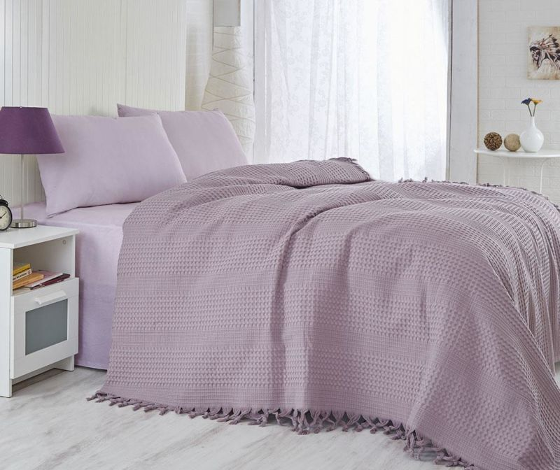 Prekrivač Pique Jesse Purple 220x240 cm