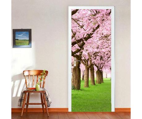 Naklejka na drzwi Blossom Flowers Tree
