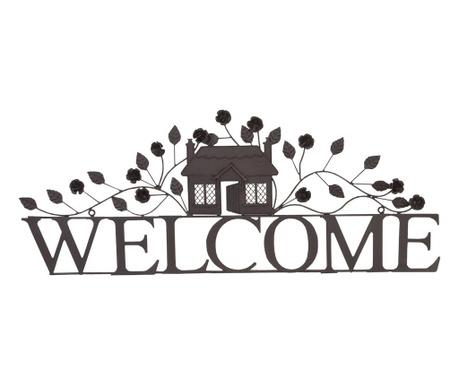 Decoratiune de perete Leafy Welcome