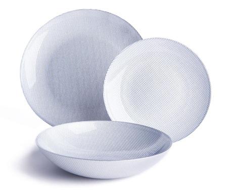 18-dijelni servis za jelo Diamond Silver