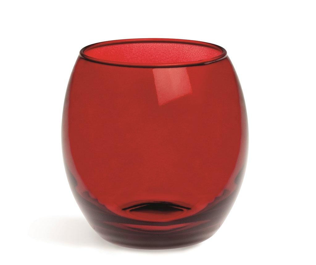 Set 6 čaša Corinto Red 405 ml