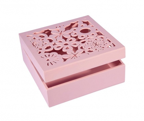 Кутия за бижута Daisy Pink
