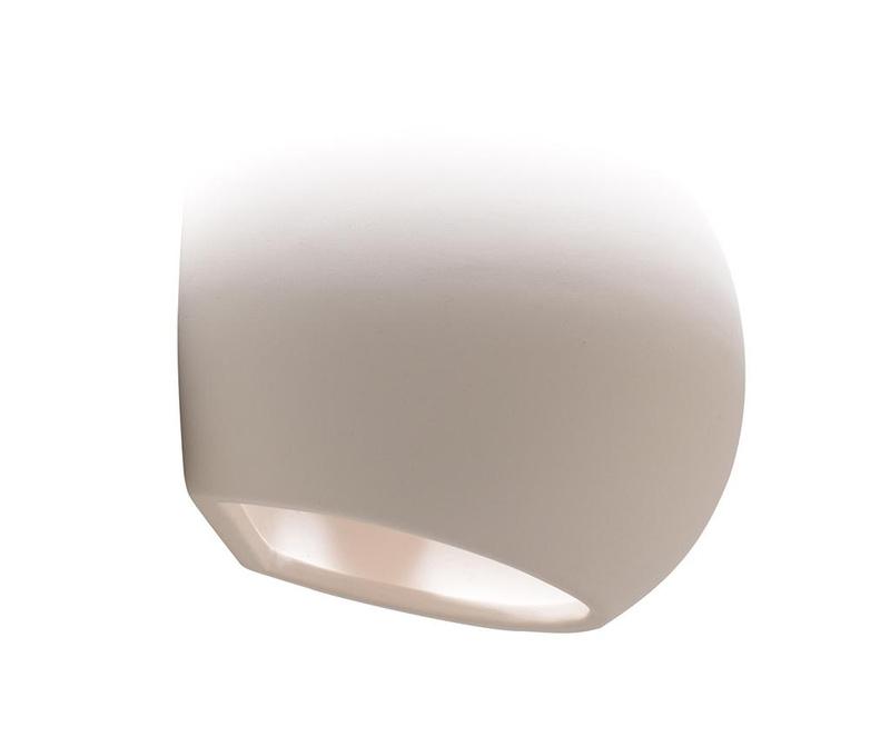 Stenska svetilka Mercury White