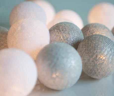 Ghirlanda luminoasa Silvery White