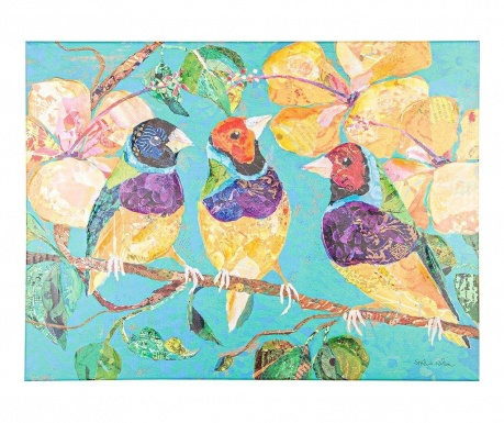 Slika Tree Birds 60x80 cm