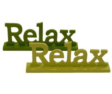 Zestaw 2 dekoracje Relax