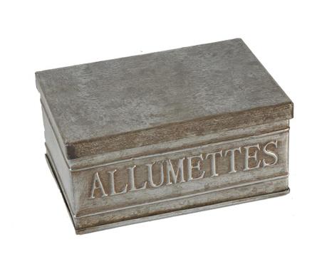Pudełko na zapałki Antique Silver