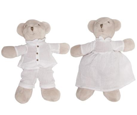 Teddy Bears 2 db Plüss játék