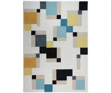 Covor Abstract Blocks 80x150 cm