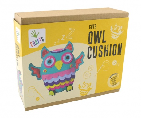 Kreativni set Owl Cushion