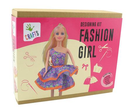 Set de creatie vestimentara Fashion Girl