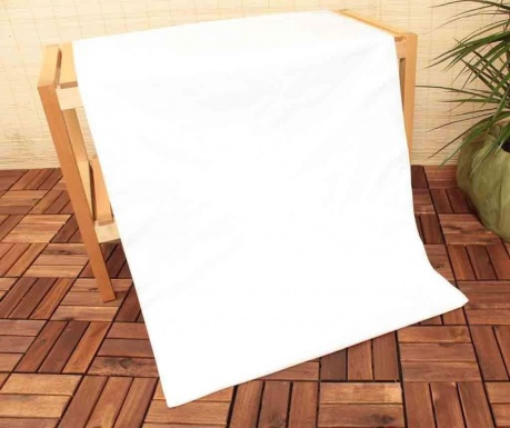 Cearsaf de pat cu elastic Uspa Mix White 160x200 cm