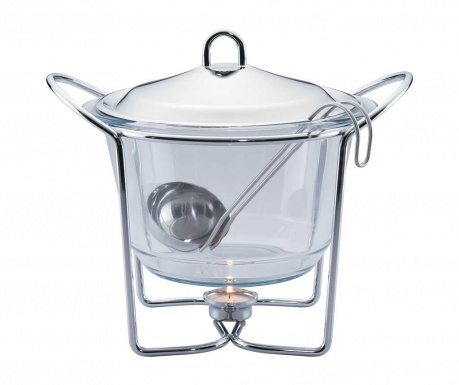 Vas cald dish Clear 4 L