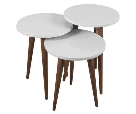 Nesty White 3 db Asztalka