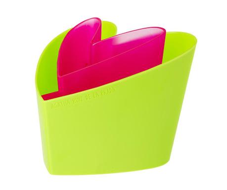 Držalo za kuhinjske pripomočke Arp Pink Green