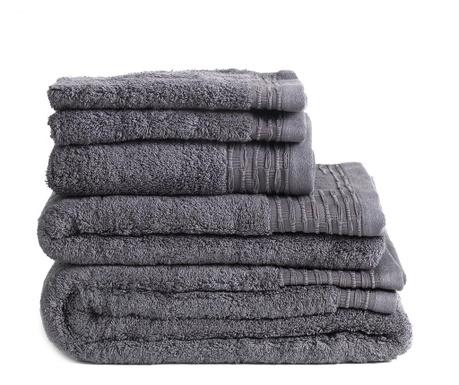Ręcznik kąpielowy Lisa Dark Grey 50x100 cm