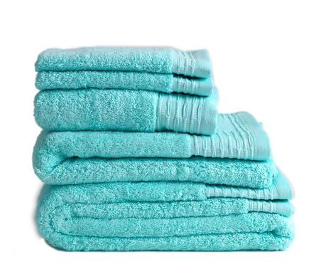 Σετ 3 πετσέτες μπάνιου Lisa Aqua