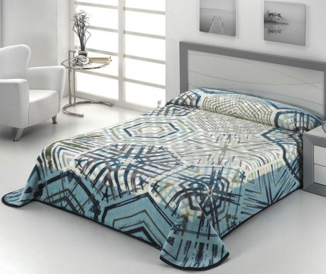 Koc Luxury Plus Navy 220x240 cm