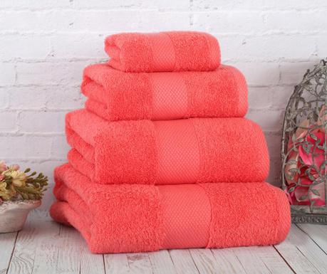 Πετσέτα μπάνιου Damla Coresoft Coral