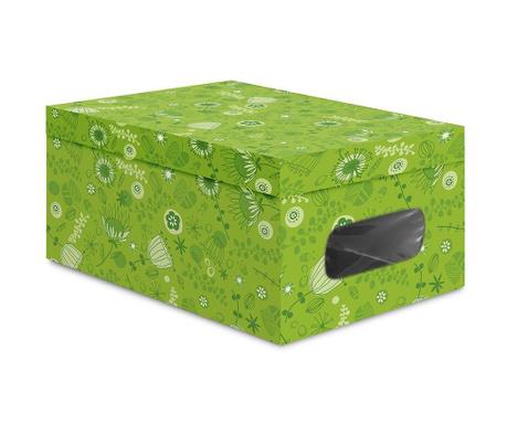 Cutie  cu capac pentru  depozitare Sisy Green