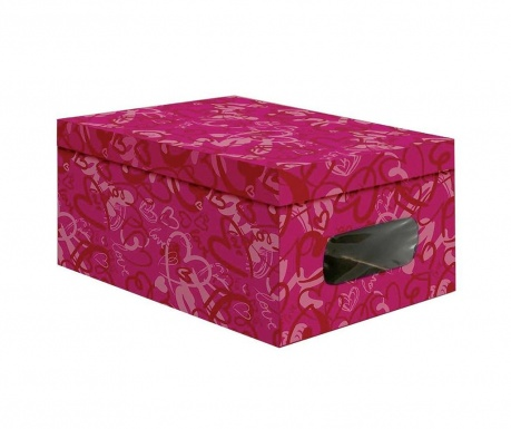 Cutie  cu capac pentru depozitare Sasha Fuchsia