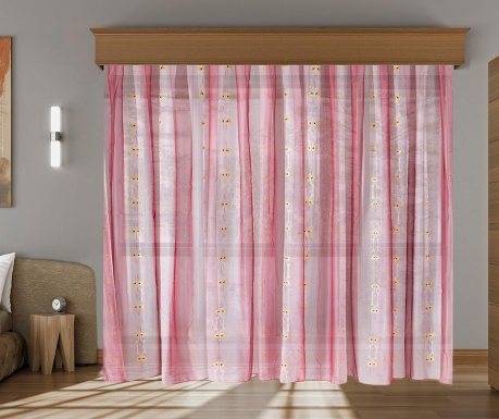 Curtain Elise Cherry 200x260 cm